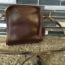 Vintage Coach Mor-9139 Brown Leather Small Crossbody Bag Purse Shoulder Bag Photo