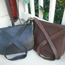 Vintage Coach Patricia Legacy Flap Leather Shoulder Bag Crossbody 9951/9144 Lot Photo