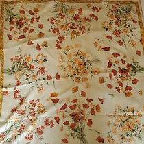 Vintage Coach Scarf Made in Italy 35