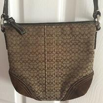 Vintage    Coach    Sig c's  Crossbody  Purse / Handbag   Used Once  Photo