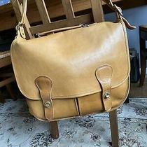 Vintage Coach Swag Leather Messenger Briefcase Bag in Saddle Photo