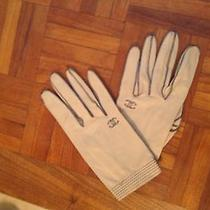 Vintage Coco Chanel Leather Gloves Photo