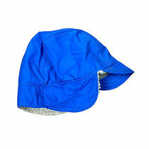 Vintage Columbia Goretex Blue Ear Flap Sherpa Winter Hat Cap S/m Euc Usa Made Photo