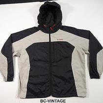 Vintage Columbia Sportswear Windbreaker Colorblock Jacket Outdoors Polo 25087 Photo