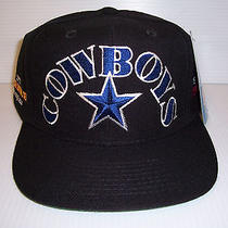 Vintage Dallas Cowboys Champions Snapback Hat One Size by Annco Black Nwt  Photo