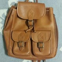 Vintage David King Leather Backpack Rucksack Madewell Photo