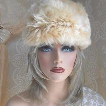 Vintage Dead Stock Tuscan Cossack Lamb Skin Shaggy Retro Fur Hat-New Old Stock  Photo