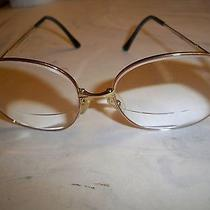 Vintage Designer Christian Dior Eye Glasses 2302 Rose Gold Frame Made in Germany Photo