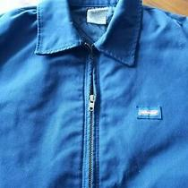 Vintage Dickies Mens Blue Work Jacket..size Medium..fully Quilted ..24 Pits Photo