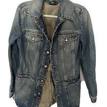 Vintage Diesel Jean Jacket Denham Jacket Sz M Blue . Small or Medium Photo