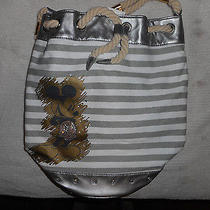 Vintage Disney Avon Mickey Mouse Rope Handles Bag Tote Photo