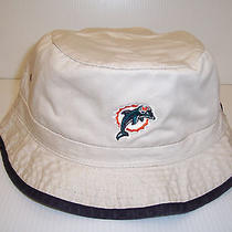 Vintage Dolphins Bucket Hat  One Size by Pro Player  Nwt Photo