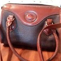 Vintage Dooney and Bourke Satchel All Weather Leather Photo
