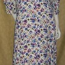 Vintage Dress Maxi Ladies 14
