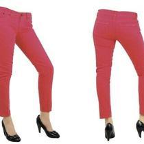 Vintage Dvb by Victoria Beckham Audrey Pink Signature Jeans (Sz 26) Ankle Photo