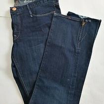 Vintage Earnest Sewn Harlan 187 Jean Dk Wash Sz 31/32 Zipper on the Bottom Side Photo