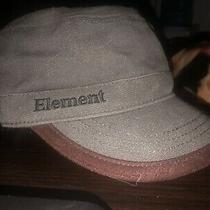 Vintage Element Skate Skateboards Cadet Hat Osfa Grey Photo