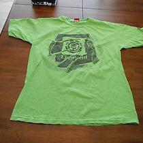 Vintage Element Skateboards T Shirt Mens Large Made in Usa Skater Photo