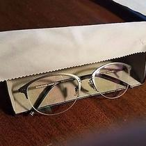 Vintage Elements New Eyeglasses Reading Glasses Titanium Frame Made in England Photo