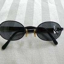 Vintage Emporio Armani Women's Sunglasses - Model 106-S - Navy/gray Photo