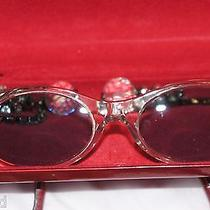 Vintage Escada Crystal Chain Sunglasses Amazing Rare Find Photo