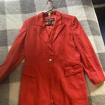 Vintage Escada Margaretha Ley Cashmere Salmon Blazer Jacker Size 40 or Woman 10 Photo