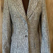 Vintage Escada New Wool Gray Blazer Size 34 Stunning in Pristine Condition Photo