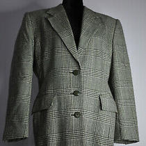 Vintage Escada Size 38 Wool pants&oversized Blazer Suit Checkered Houndstooth Photo