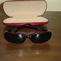 Vintage Escada Sunglasses With Case From Italy Like New Condition (T316) Photo