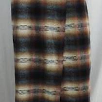 Vintage Exp Jeans Southwestern Native American Blanket Wrap Skirt Italy 9/10 Photo