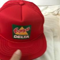 Vintage Express Delta Logo Snapback Cap Hat Trucker Mesh Photo