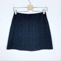 Vintage Express Floral Printed Mini Skirt Sz 0 Photo