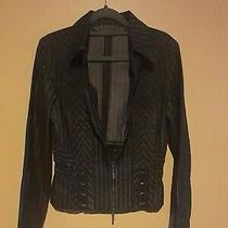 Vintage Express Size Small Pinstripe Blazer Jacket Career Stretch Id 11234 Photo