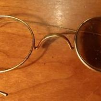 Vintage Eye Glasses in Case -Glasses Are Great for Parts - Missing Lens Photo