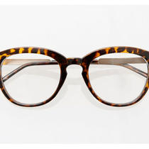 Vintage Eyeglasses Phillip Frames 60e20 Tiger Skin Cat Eyest Lim Eyewear Parker  Photo