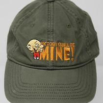 Vintage Family Guy Stewie Griffin Victory Shall Be Mine Anoma Baseball Hat Cap Photo
