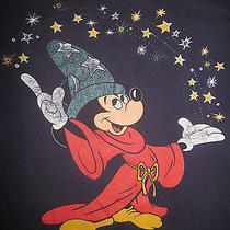 Vintage Fantasia - Mickey Shirt 80s Disney Original Promo Cartoon Mouse Fantasy  Photo