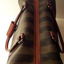 Vintage Fendi Duffle Pequin/cognac Photo