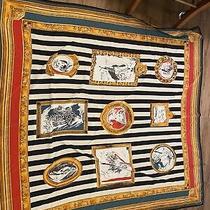 Vintage Fendi Silk Scarf Large Photo