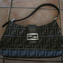 Vintage Fendi Zucca Handbag Photo