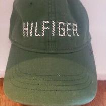 Vintage Forest Green Tommy Hilfiger Strap Back Hat One Size Fits All Photo