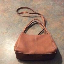 Vintage Fossil Brown Leather Crossbody Purse or Hand Bag Photo