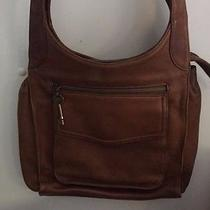 Vintage Fossil Brown Leather Purse Photo