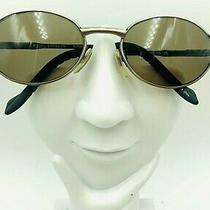 Vintage Fossil Kirby  Silver Metal Oval Sunglasses Eyeglasses Frames Photo