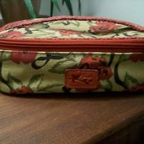 Vintage Fossil Makeup Toiletry 2 Piece Case  (A Few of My Favorite Things) Photo