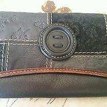 Vintage Fossil Reese Clutch Nwt Very Rare Gorgeous Photo