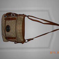 Vintage Fossil Sling Bag/tote/purse Photo