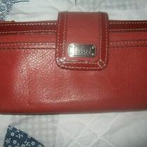 Vintage Fossil Women's Clutch Wallet  Photo