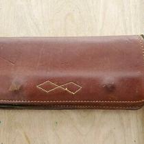 Vintage Frye Leather Trucker Wallet Photo