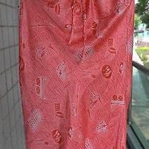Vintage Fun Fendi Versatile Pink Skirt Furniture Print With Signature 40 Photo
